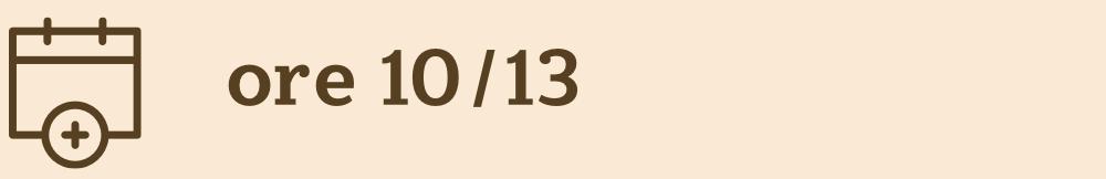 ore 10/13