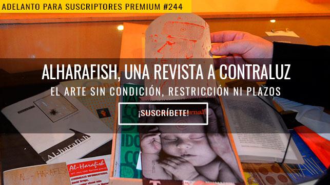 Alharafish, una revista a contraluz
