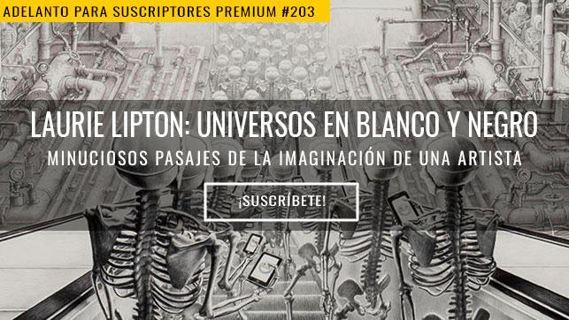 Laurie Lipton: universos en blanco y negro
