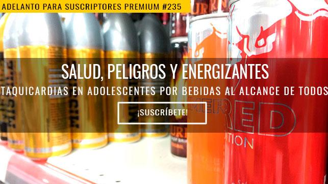 Salud, peligros y energizantes