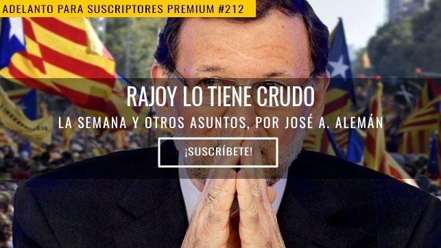 Rajoy lo tiene crudo