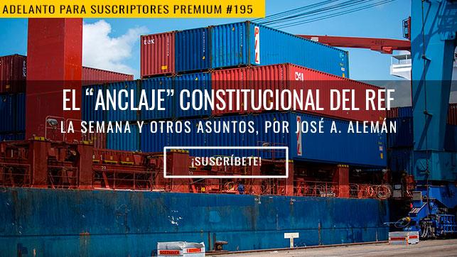 """El """"anclaje"""" constitucional del REF"""