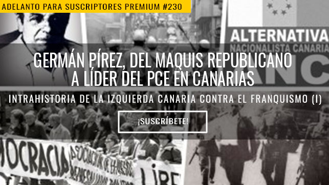 Germán Pírez, del maquis republicano a líder del PCE en Canarias