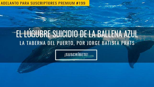 El lúgubre suicidio de la ballena azul
