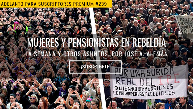 Mujeres y pensionistas en rebeldía