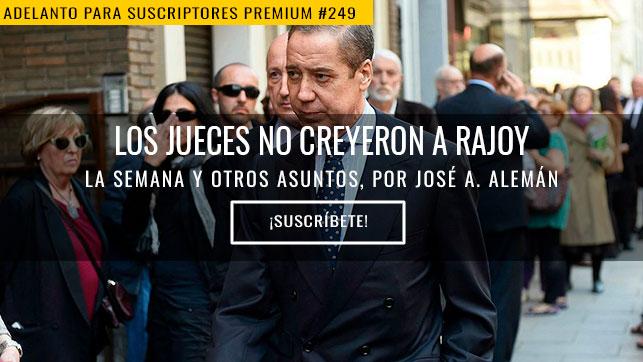 Los jueces no creyeron a Rajoy