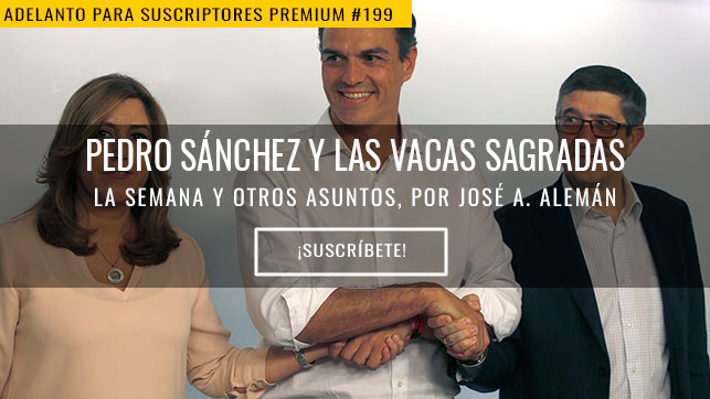 Pedro Sánchez y las vacas sagradas
