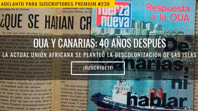 OUA y Canarias: 40 años después