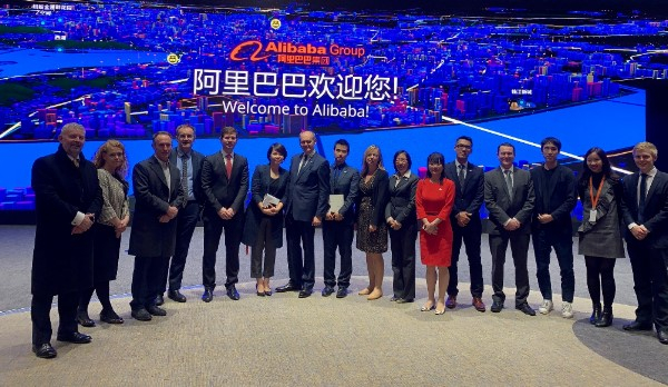 Members of the Midlands Engine Trade Mission visiting the Alibaba Group HQ