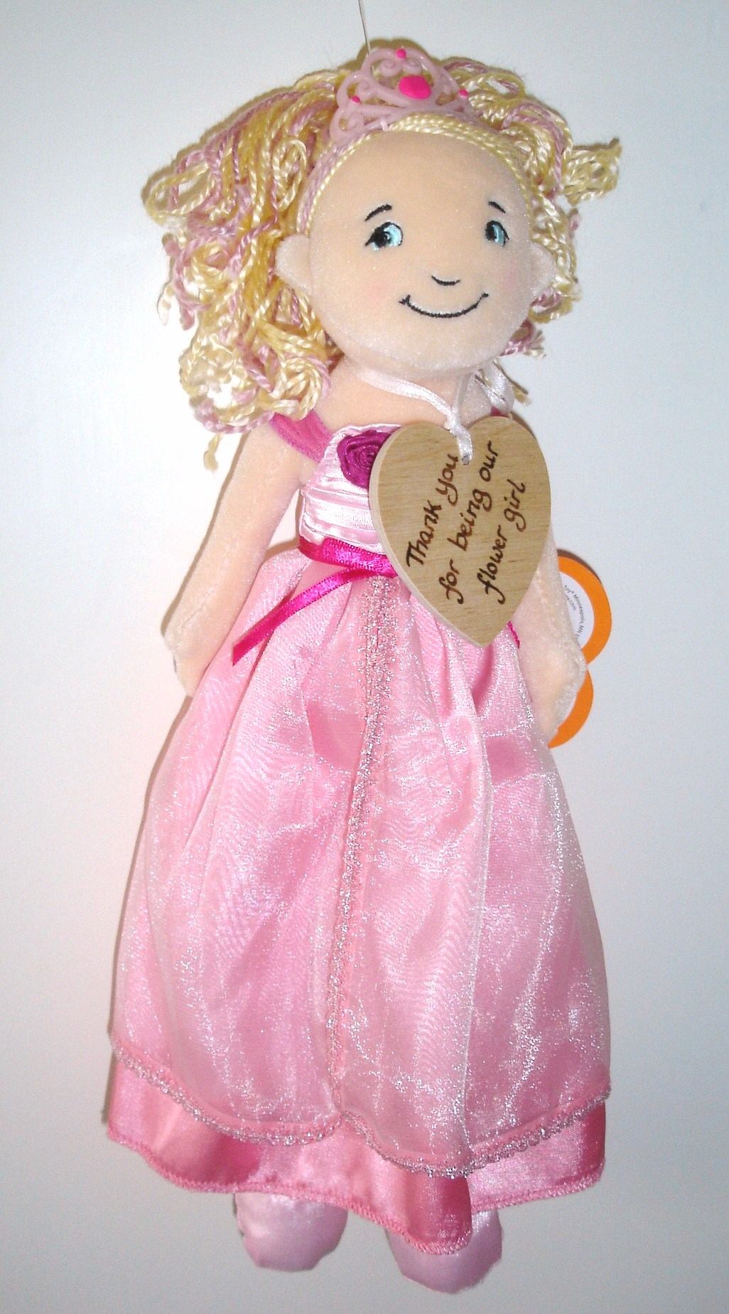 Flower girl rag doll