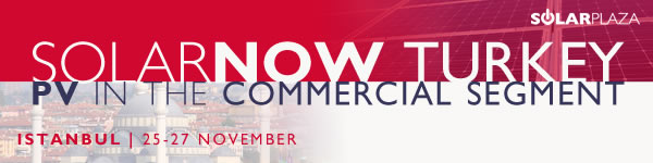 Solar Now Turkey - PV in the Commercial Segment | 22-27 November 2013 | Istanbul
