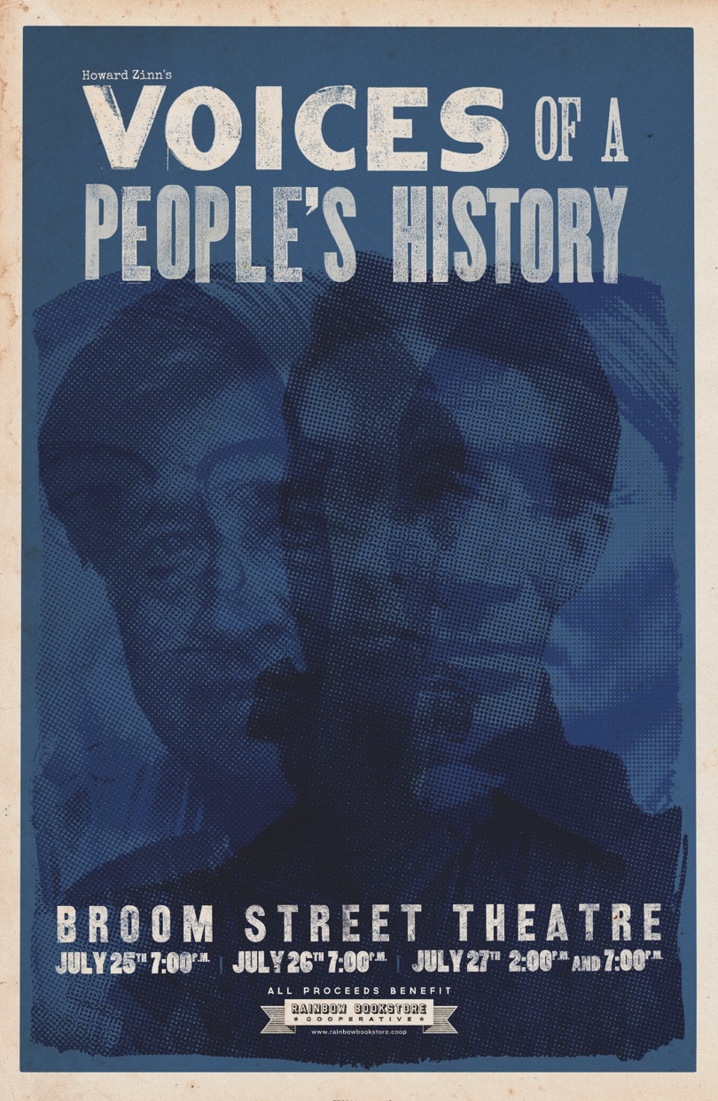 Voices of a People's History poster