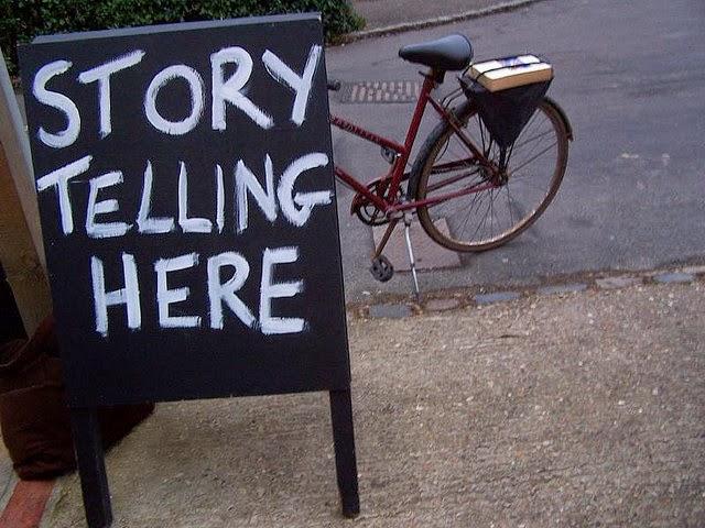 Storytelling: Contação de histórias aqui.