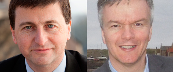 Douglas Alexander and Michael Moore