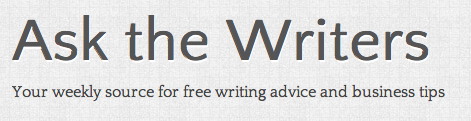 Ask the Writers Logo