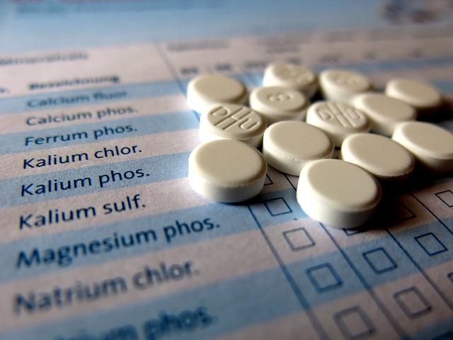 Image from https://pixabay.com/en/sch%C3%BCssler-tablets-homeopathy-957258/