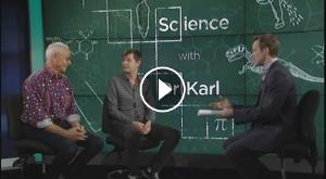 Watch Marsh on ABC News in Australia, with Dr Karl Kruszelnicki
