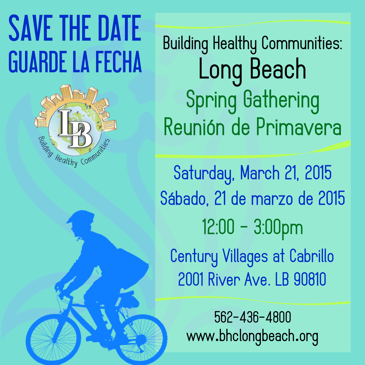 BHC Spring Gathering: March 21