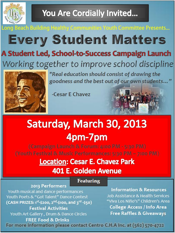 Every Student Matters Campaign Flyer