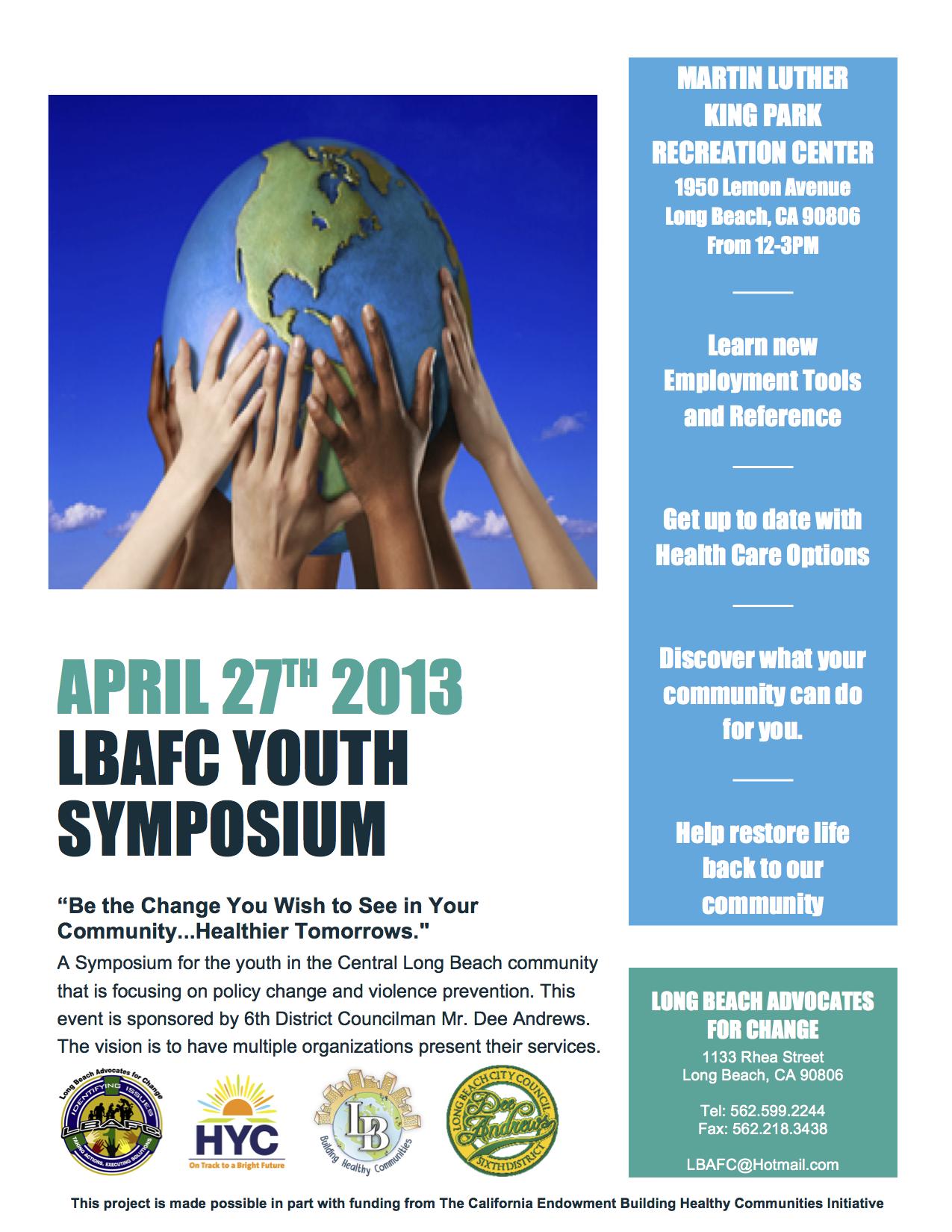 LBAFC Youth Symposium