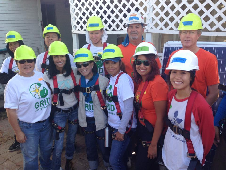 Solar Install Group Photo