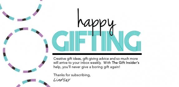 Gift Insider Eblast Header