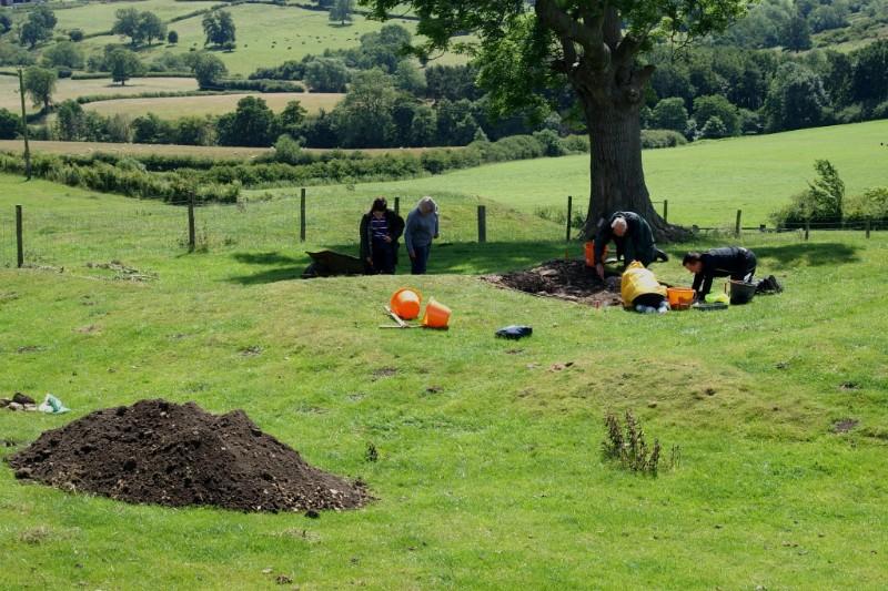 Hanging Grimston excavations