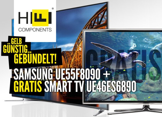 Das Super Samsung TV Bundle angebot!