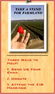 Take a Stand on Farmland - Send us your Email address