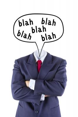 Avoid the blah blah of jargon