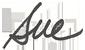 Sue's signature