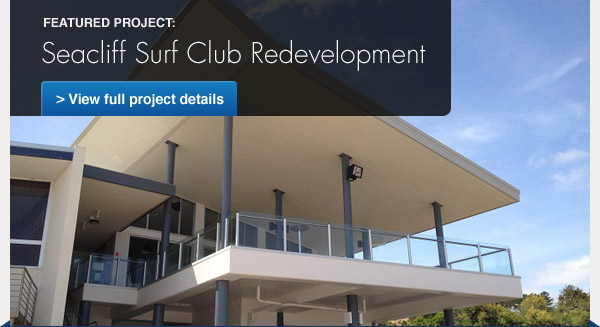 Featured Project: Seacliff Surf Club Redevelopment - View full project details