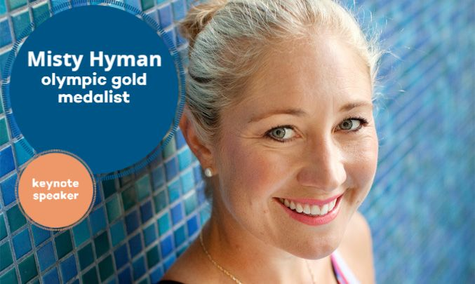 Olympic gold medalist Misty Hyman won a stunning upset victory at the 2000 Sydney games when she came from behind to break the American record and win the 200-meter butterfly. Through her stories and struggles, Misty inspires and shows her listeners how they, too, can win their own gold medal in their own way!