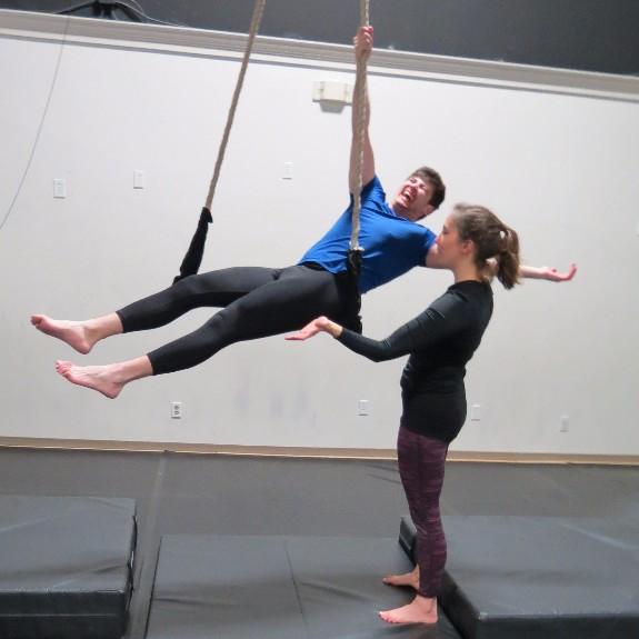 Jill & Aerials Student