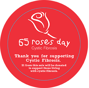 65 Roses Day sticker by Wafex