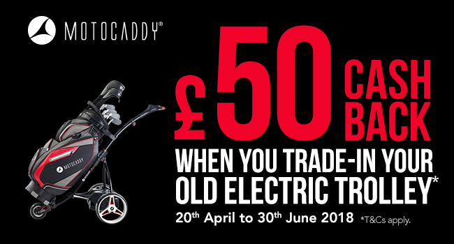 £50 Cashback when you trade-in your old electric trolley