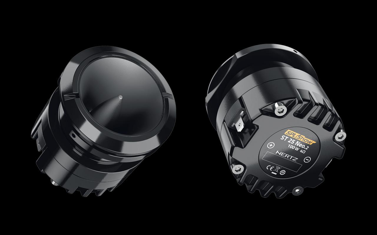 Hertz car audio system
