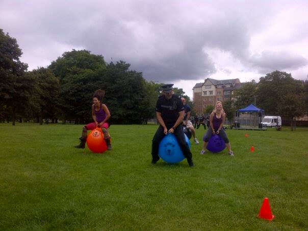 spacehopper race