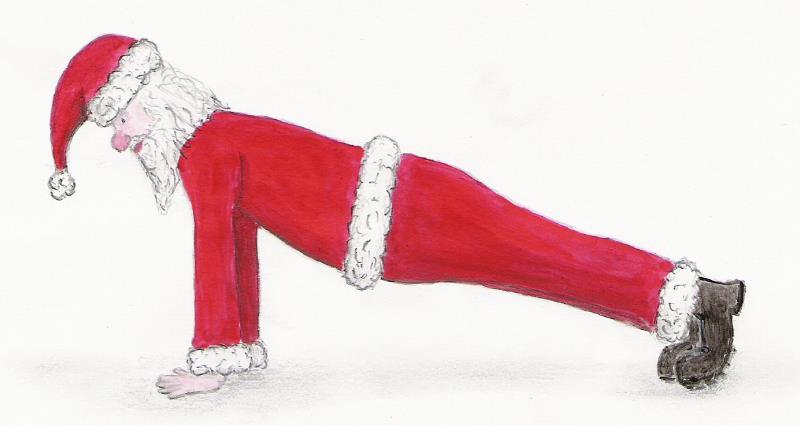 press up santa