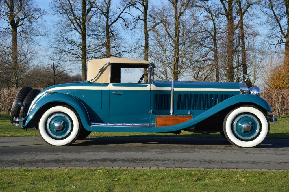 Isotta Fraschini Tipo 8A Castagna Roadster