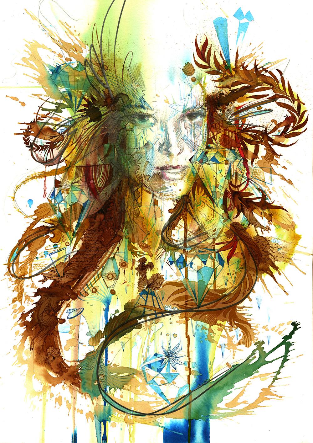 Carne Griffiths - Alternative Watercolours!