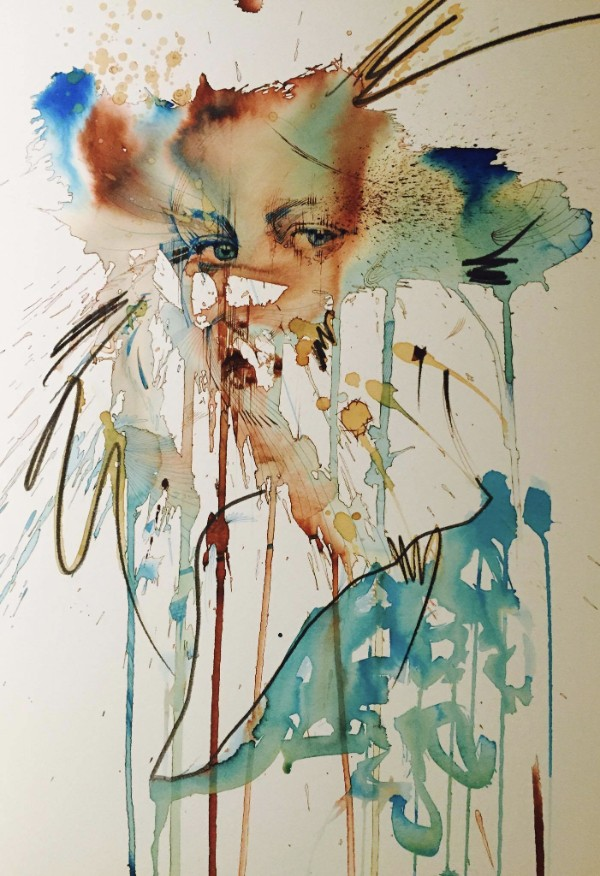 Carne Griffiths - Ink, Tea, Whisky, Paper - What a Mix