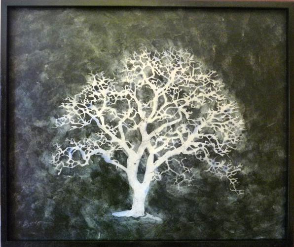Bill Zima - Ink and Wax Paintings