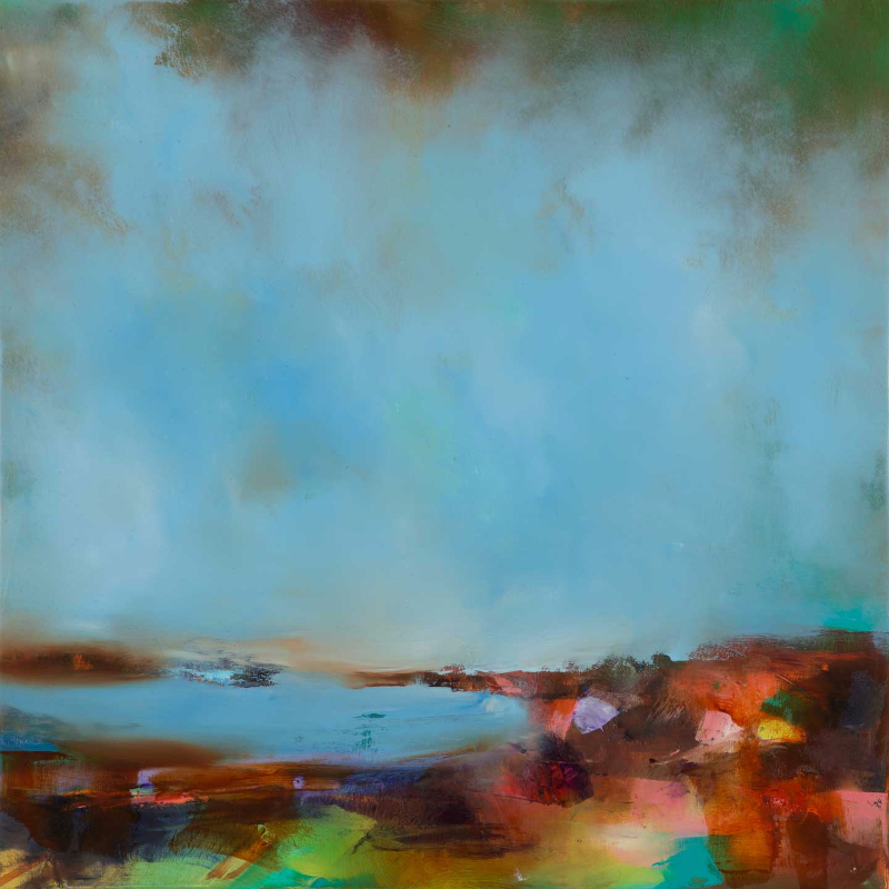 Laura Rich - Over to St Ives from Trencrom