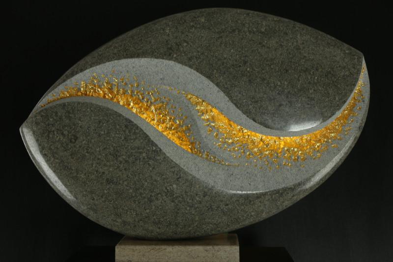 Michael Thacker - Limestone & Gold Leaf