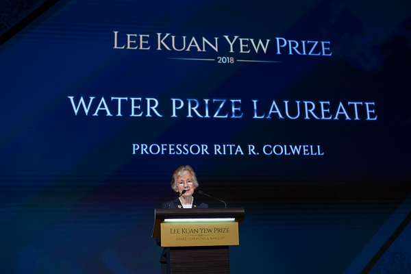 Lee Kuan Yew Water Prize 2020
