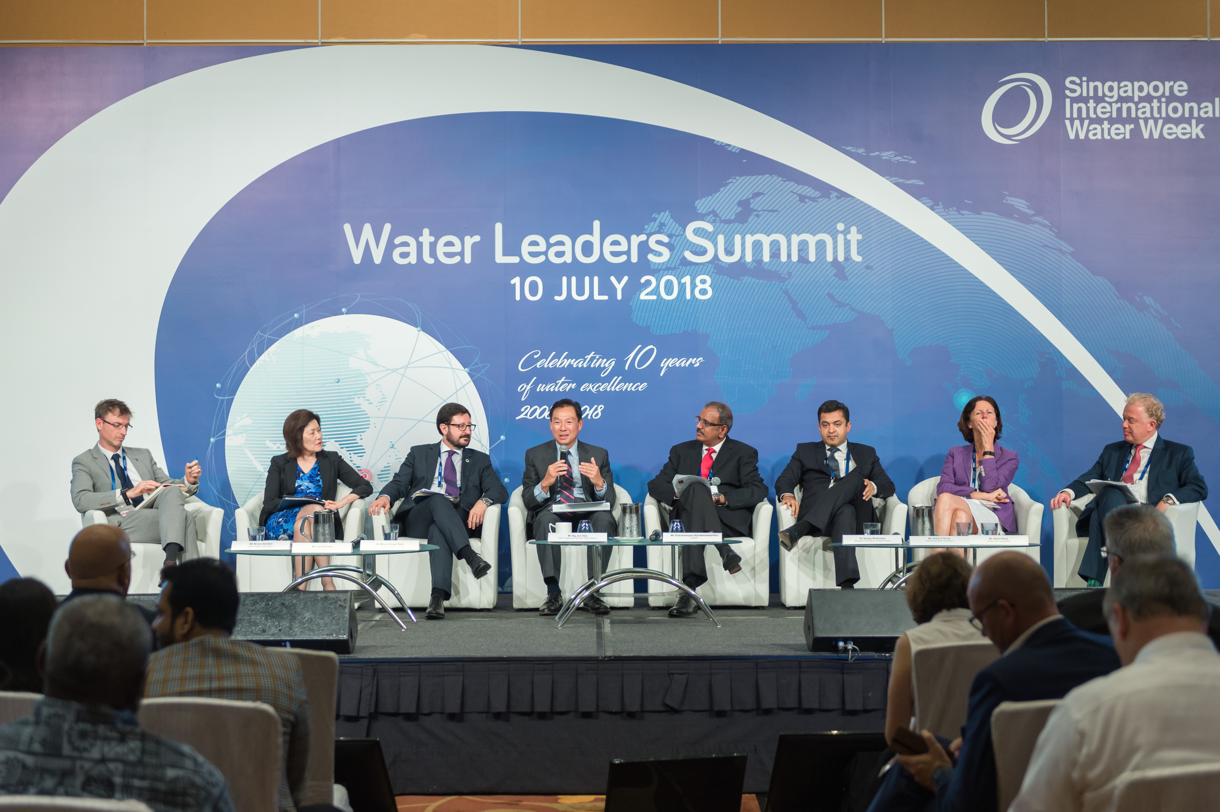 Gathering water leaders for success