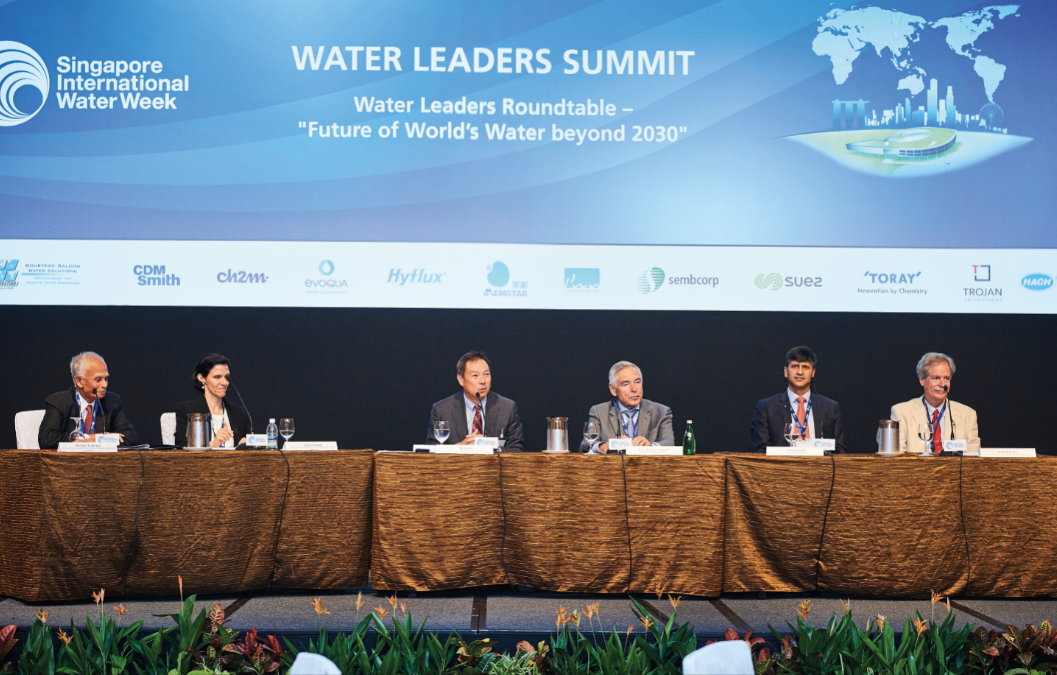 Stepping up for the water industry