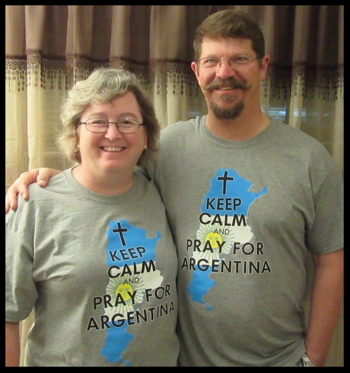 """Keep Calm and Pray for Argentina"""