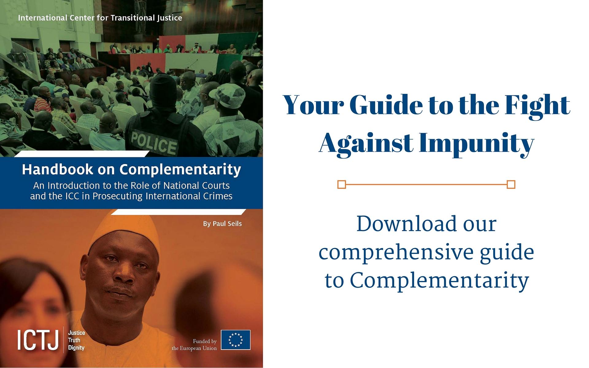 Handbook on Complementarity